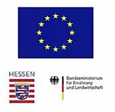 Unser Neubau: Das Tanklager und die Kelterhalle wurden gefördert durch den Europäischen Landwirtschaftsfonds für die Entwicklung des ländlichen Raums. Mit finanziert wurde dies von der EU der Bundesrepublik  Deutschland und dem Land Hessen.